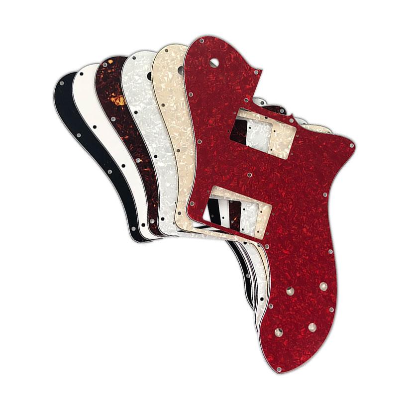 pleroo custom guitar parts for us fd 72 tele deluxe reissue guitar pickguard replacement. Black Bedroom Furniture Sets. Home Design Ideas