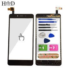 Mobile TouchScreen Front Touch Screen For Xiaomi Hongmi Redmi Note 2 Capacitive Touch Glass Digitizer Panel Lens Sensor Adhesive high quality gigabyte gsmart roma r2 capacitive touch screen digitizer front glass replacement touchscreen free shipping tools