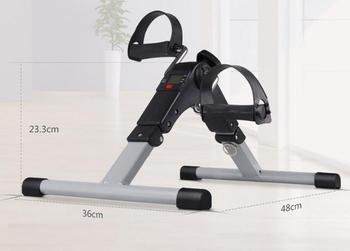 Mini stepperze Fitness kryty jazda na rowerze rower budowy ciała leg trener tanie i dobre opinie 190430G 2 8kg 38*17 5*33 CM