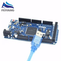 1PCS Due R3 Board For Arduino ATSAM3X8E ARM Main Control Board With 1 Meter Usb Cable