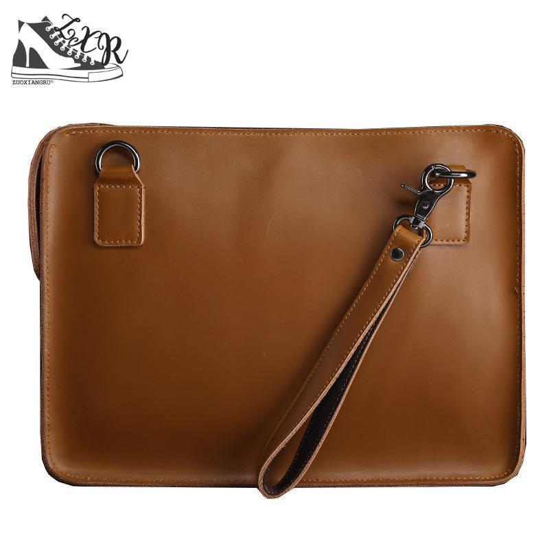 Zuoxiangru Leather Bag Business Men Bags Laptop Tote Briefcases Crossbody Bags Shoulder Handbag Men's Messenger Bag все цены