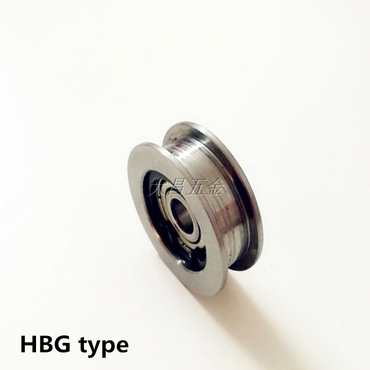 US $12 59 10% OFF|misumi HBG Flat belt pulley idler pulley motor spindle  wheel bearing Buckle Automatic parts-in 3D Printer Parts & Accessories from