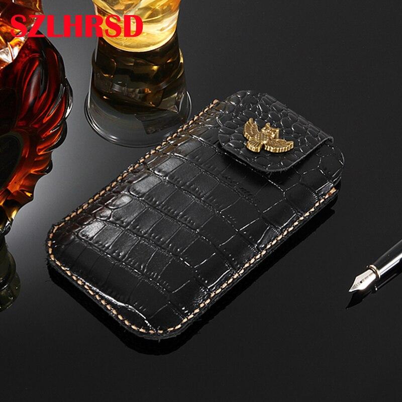 Motivated For Jinga Hit 4g Case Genuine Leather Holster Belt Clip For Fly Power Plus 5000 Phone Cover Waist Bag Handmade For Lava Z40 Flip Cases Phone Bags & Cases