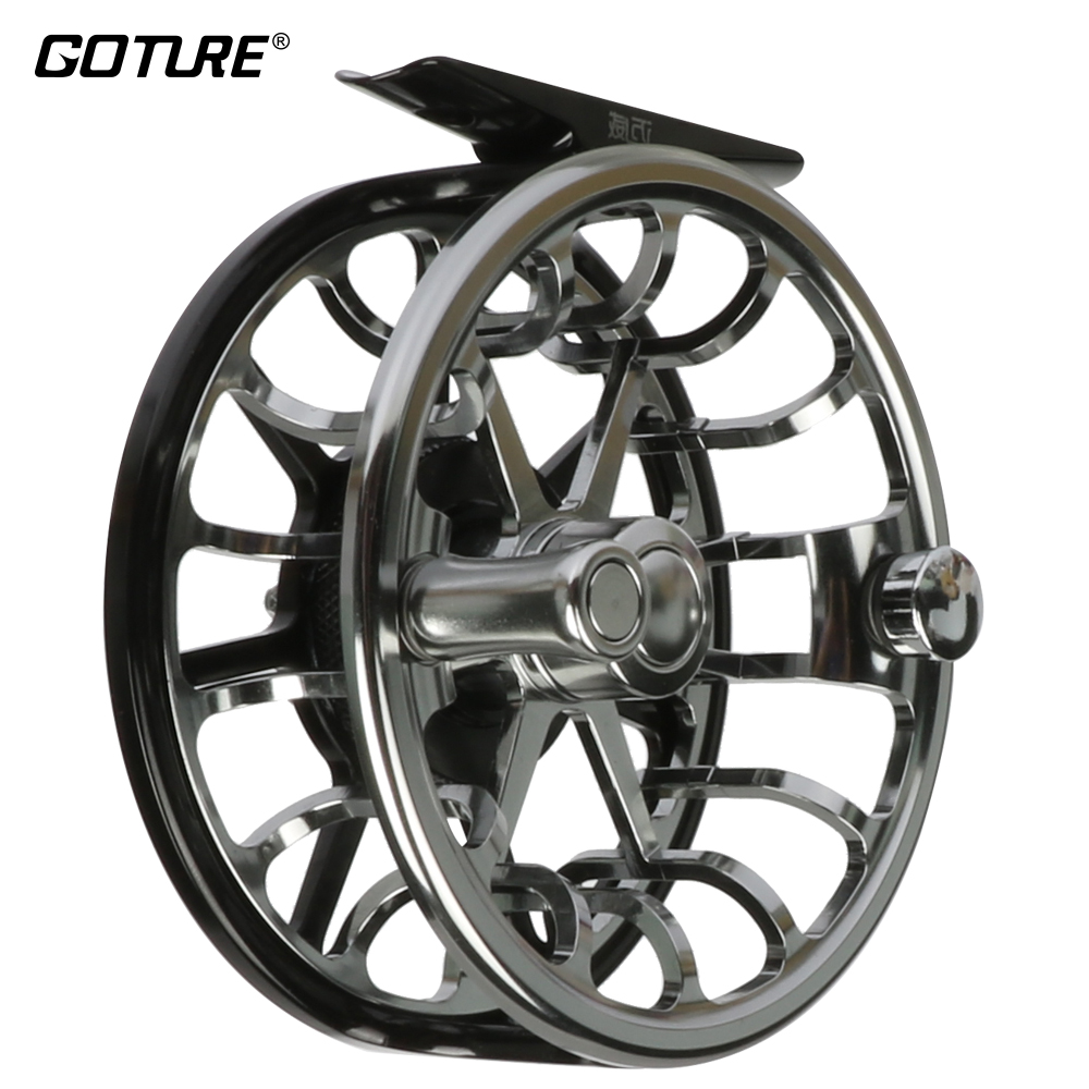 Maxway Elite 5/6 CNC Machine Cut Fly Fly Carrete 3BB Agua salada y de agua dulce Bass Truch Salmon Fishing Reel