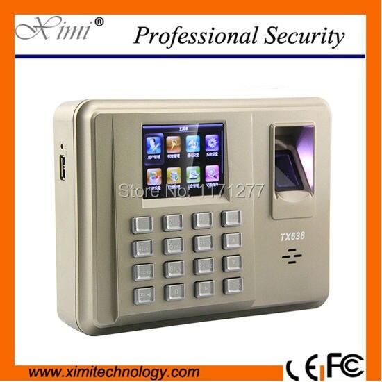 Системе Linux TX638 Фингерпринта WI FI fution с стандарт связи tcp/ip офисное оборудование Бесплатная доставка