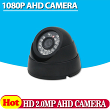 HD 1080P Dome AHD Camera 2MP CCD Security Video HD Analog Camera Night Vision IR 40M CCTV Camera For AHD DVR