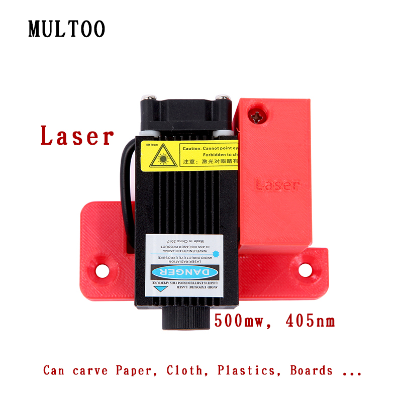 Biggerlaser plaque d'impression imprimante 3d multoo Double buse Double extrudeuse 3D imprimante accessoires haute qualité précision