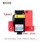 Biggerlaser plaque d'impression imprimante 3d multoo Double buse Double extrudeuse 3D imprimante accessoires haute qualité précision - 1