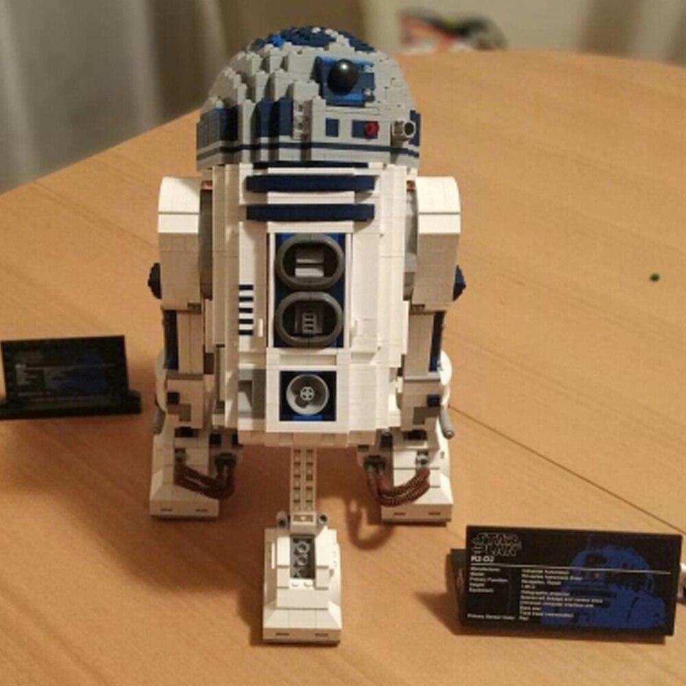 نجمة خطة الحروب روبوت R2D2 بناء لعبة المكعبات-في حواجز من الألعاب والهوايات على  مجموعة 1