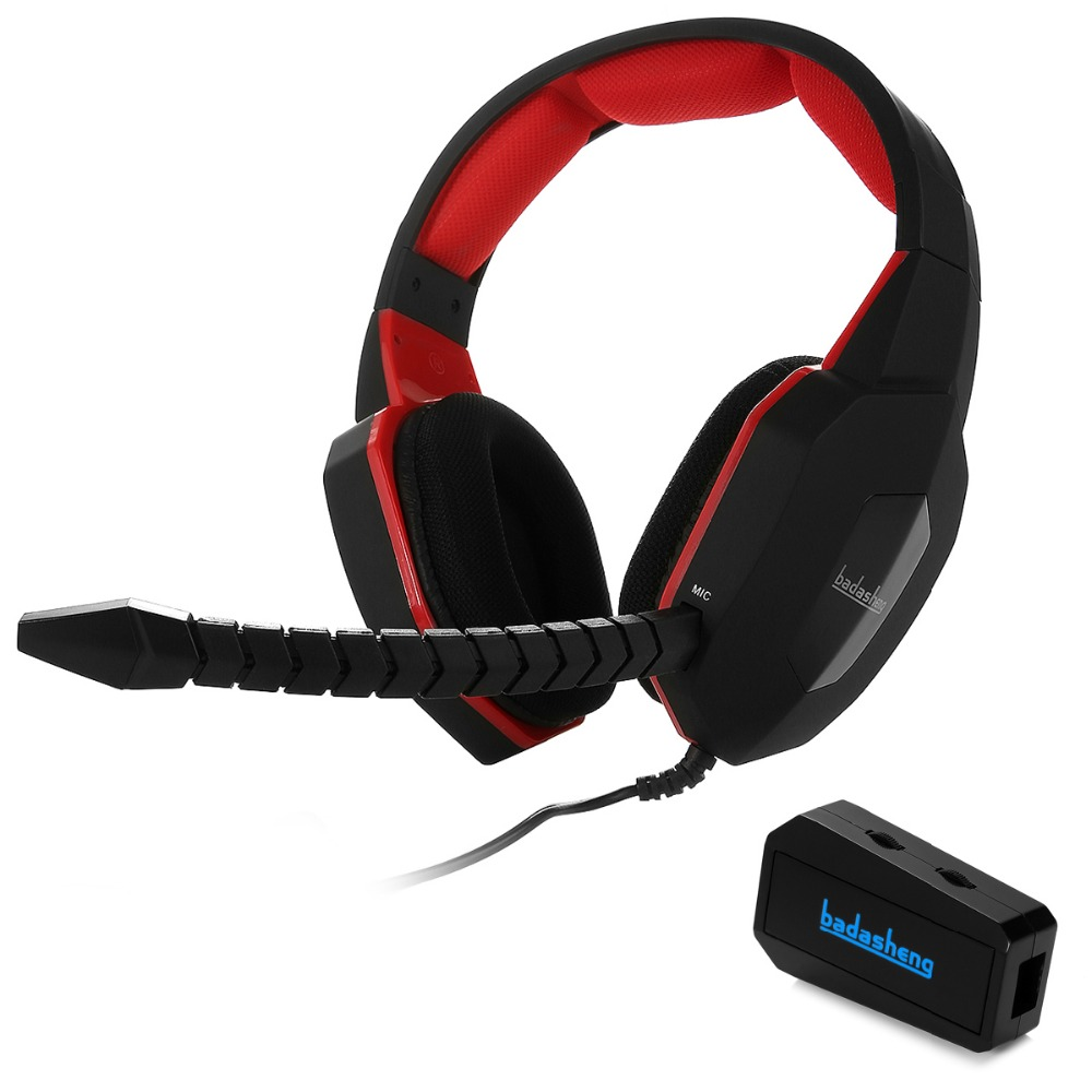 Wired Stereo Gaming Headphones For PS4 / PS3 / XBox 360 / XBox One Detachable Headset Gaming headphones for PS4/XBOX ONE (RED) image