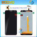 White Black LCD With Touch Screen Display Digitizer Assembly For Alcatel One Touch Idol 2 Mini S OT6036 6036 6036Y +Track number