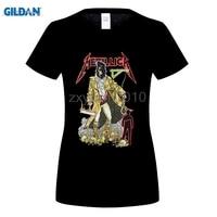 GILDAN Digging Gold Skeleton Short Sleeve T Shirt Metal Skeleton Rock T Shirt Summer Hip Hop