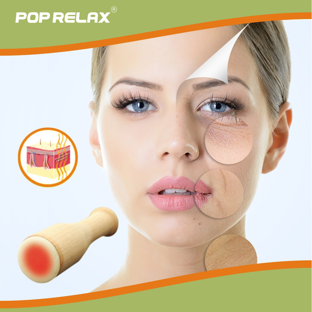 POP RELAX real jade heating roller moxa facial beauty skincare device remove nasolabial folds wrinkles health care face massager pop relax electric vibrator jade massager light heating therapy natural jade stone body relax handheld massage device massager