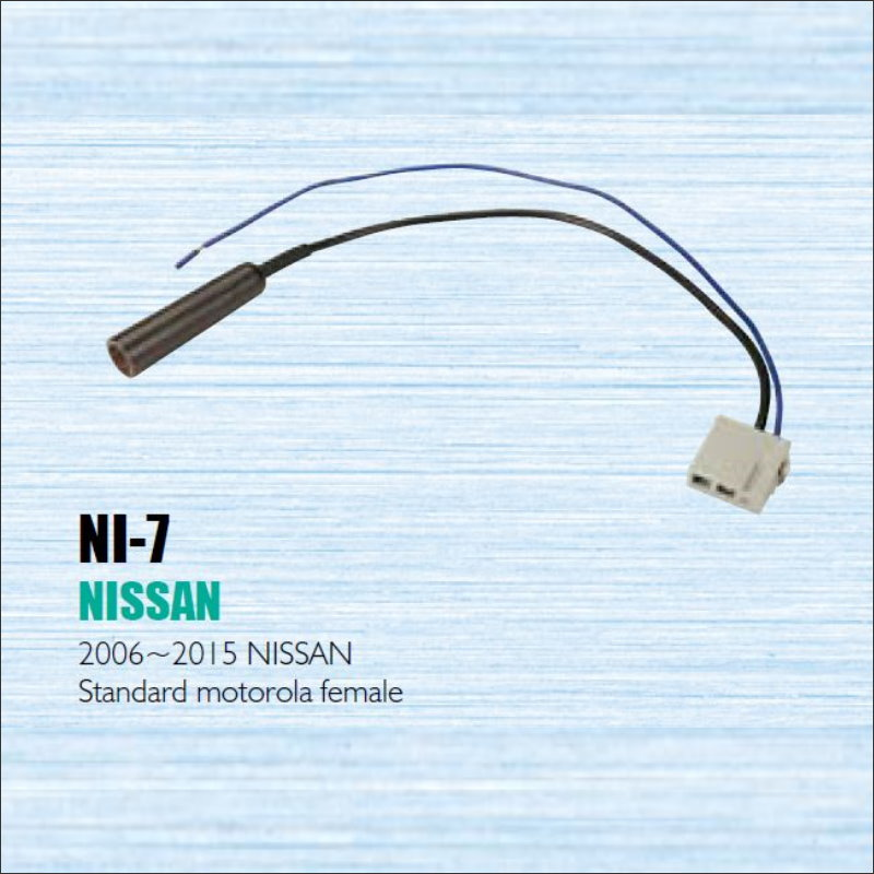 popular nissan radio wiring buy cheap nissan radio wiring lots car radio antenna adapter cable wire for nissan 2006 2012 aftermarket stereo cd dvd gps