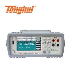 Tonghui TH2516 szybka wysyłka DC tester rezystancji mikro omomierz