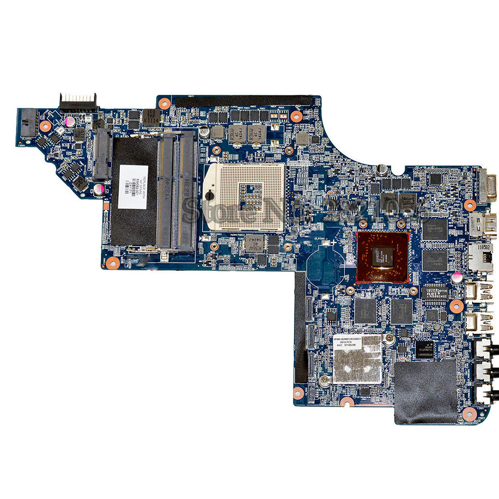 NOKOTION Laptop motherboard for HP DV7-6000 DV7T-6000 639392-001 Motherboard hm65 chipset Tested working