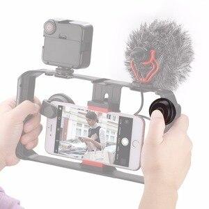 Image 5 - Ulanzi u rig Pro Smartphone zestaw wideo w 3 uchwytach do butów filmowanie Case ręczny telefon stabilizator kamery uchwyt mocowanie do statywu stojak
