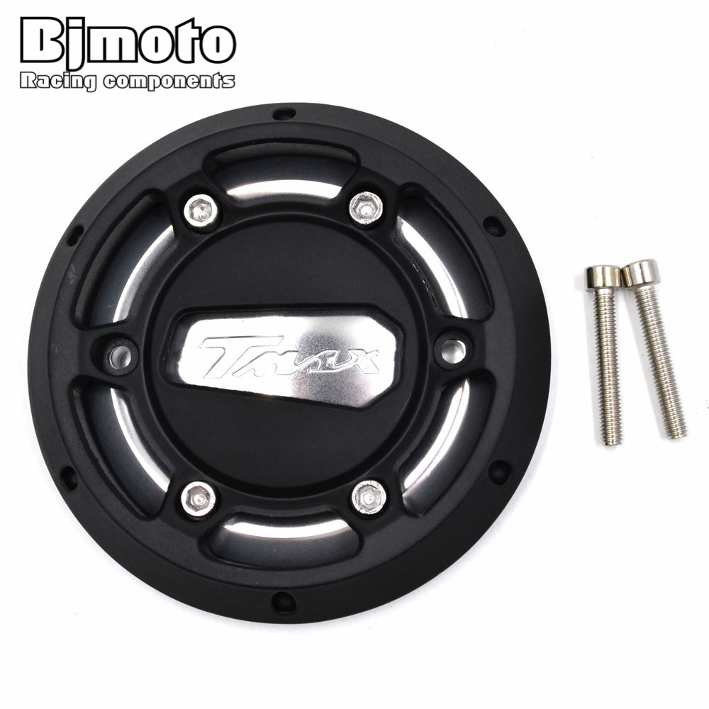 BJMOTO Motorcycle CNC Aluminum Engine Stator Cover Protector For Yamaha T-max 530 2012-2015 Tmax 500 2008-2011