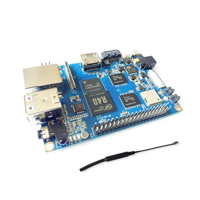 BPI M2 ультра R40 Quad-Core 2 Гб DDR3 Оперативная память с жесткими дисками SATA Wi-Fi Bluetooth 8 Гб памяти на носителе eMMC демо доска одноплатный компьютер