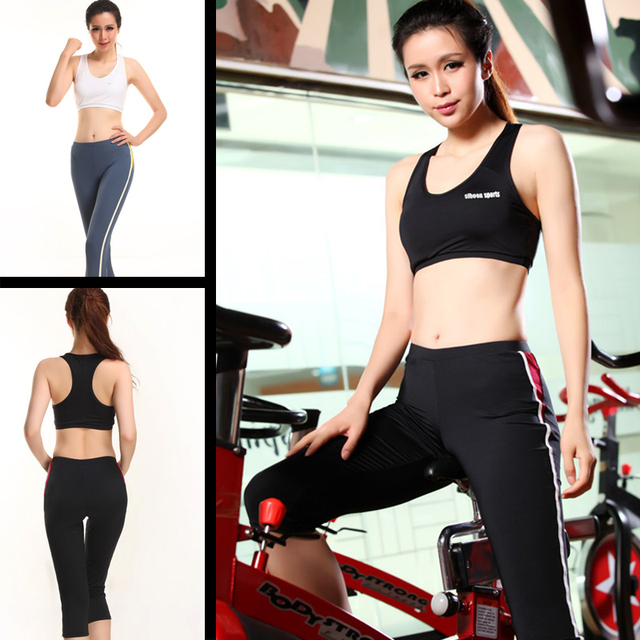 1d9b809d95 Hot wholesale yoga clothes workout exercise clothes for women Fitness suite  sportswear sports clothing yoga set training suit