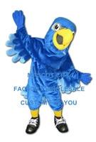 Индивидуальный заказ синий Сокол Маскоты костюм для взрослых Размеры персонажа из мультфильма Орел Птица Маскоты te Маскоты наряд костюм н