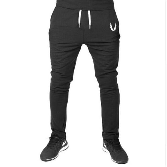 Los hombres Pantalones Casuales Elástico de algodón Para Hombre de Fitness JADEO y OROS SportsGym Entrenamiento Pantalones flacos, Pantalones de Chándal Basculador Pantalones