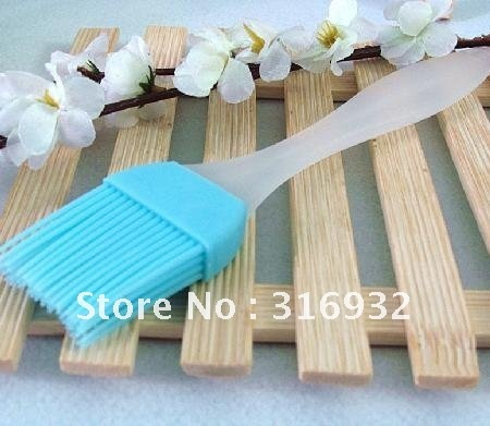 D3 Heat resistance silicone brush, for BBQ and baking, good quality, 10pcs/lot