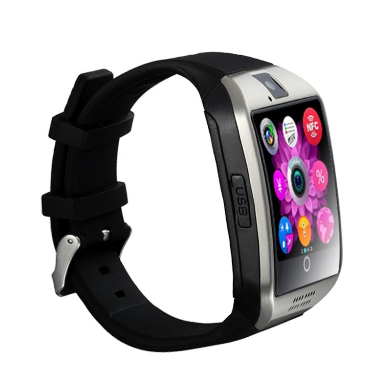 Q18 Smart Watch kamera TF SIM Card Phone Se Sync SMS Facebook Twitter - Mænds ure - Foto 5