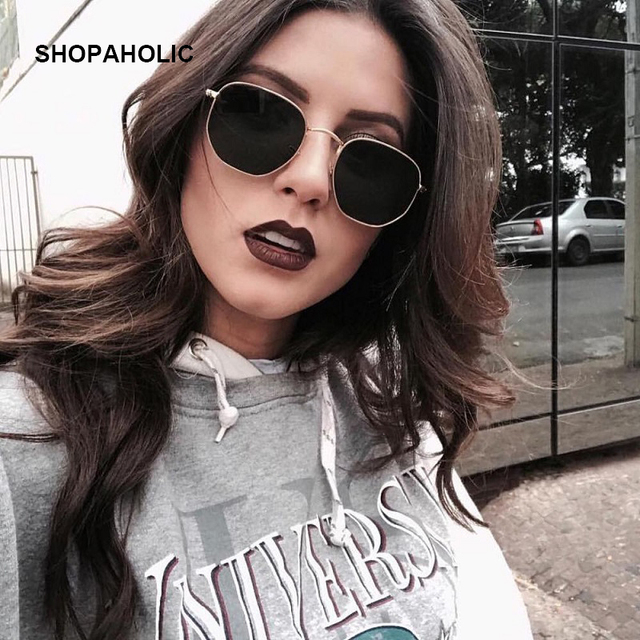 2019 Retro Round Sunglasses Women Brand Designer Sun Glasses for Women Alloy Mirror Sunglasses Ray Female Oculos De Sol