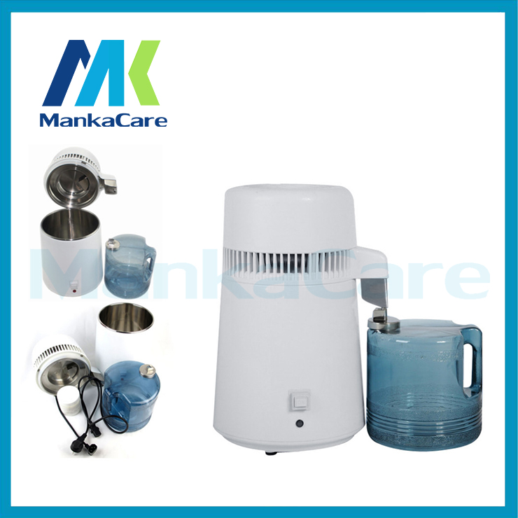 Manka Care - 4 Liters Dental products Clinic Distiller, Pure Water Distiller Stainless Steel Internal, Pure Filter PurifierManka Care - 4 Liters Dental products Clinic Distiller, Pure Water Distiller Stainless Steel Internal, Pure Filter Purifier