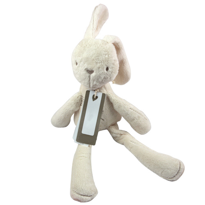 54cm Height Cute Rabbit Baby Plush Doll Toys Soft Comfort Sleeping Back Cushion Playmate Stuffed Toy White Doll Toys Gift hot sale cute baby kids animal white rabbit sleeping comfort doll plush toy baby small soft stuffed brinquedos for kids gift