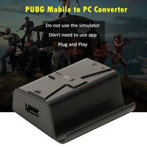 Image 2 - 変換アダプタ PUBG 携帯ゲームパッドゲームマウスキーボード IOS 電話に PC リモートコンソール BattleDock