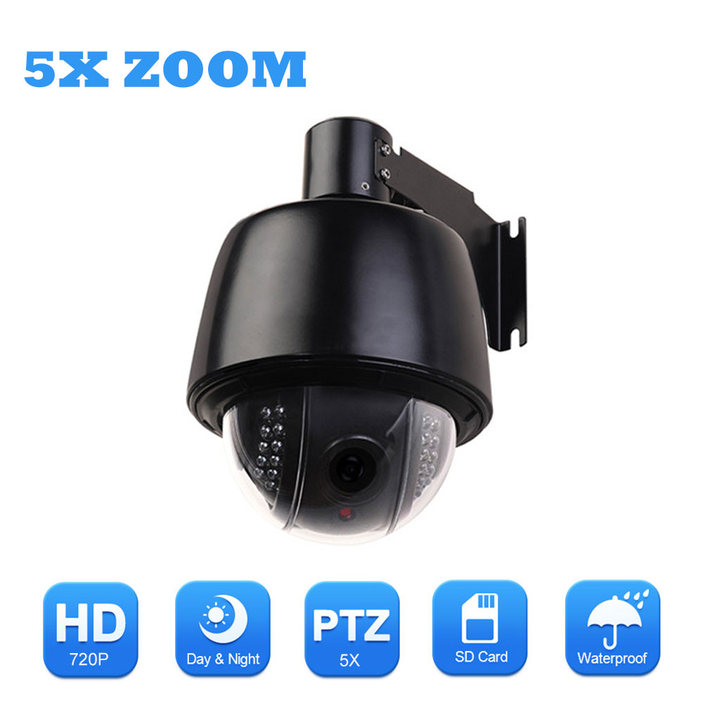 ZILNK Speed Dome Wifi IP Camera 720P HD Outdoor PTZ 5x Optical Zoom 2 7 13