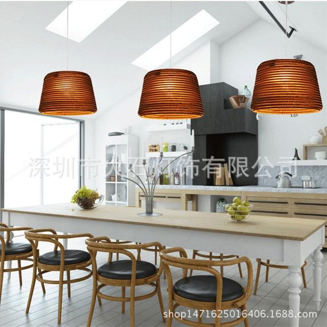 Bamboe creatieve persoonlijkheid Hanglampen eetkamer restaurant cafe ...