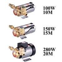 Бытовой Mute Booster насос для водопроводной воды трубопровода/нагреватель с автоматическим выключателем потока, панели солнечных батарей, горя...