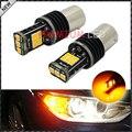 Безошибочную Янтарно-Желтый Оттенок 7507 BAU15S PY21W СВЕТОДИОДНЫЕ Лампы Для BMW 1 2 3 4 5 Серии X1 X3 X4 X5, и т. д. Передний или Задний Указатели Поворота