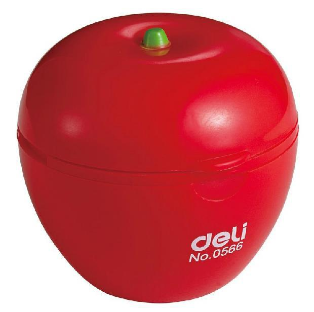 2 vrimat Cute Kawaii Apple Style Stil Pencil Sharpener çmime Zyra & Shkolla Pajisjet Grim Eyeliner Pencil Sharpener