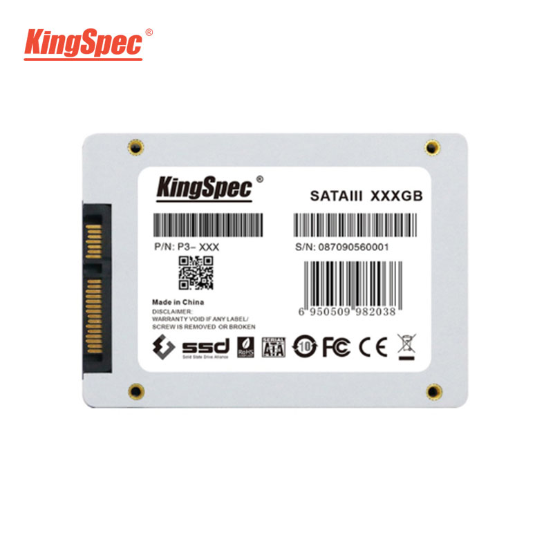 P3-XXX KingSpec 128GB 256GB 512GB 1TB 2TB SSD SATA 3 2.5 Inch Internal Solid State Drive HDD Hard Disk HD For laptop Desktop New 4