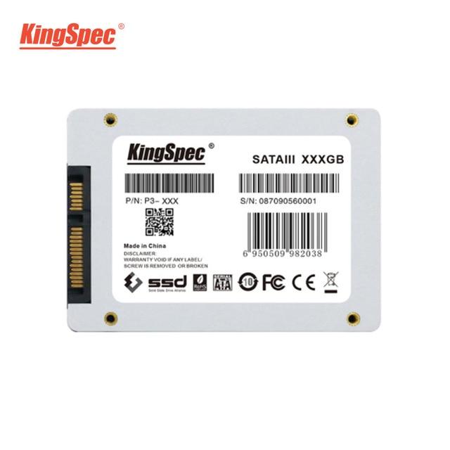 P3-XXX KingSpec 128GB 256GB 512GB 1TB 2TB SSD SATA 3 2.5 Inch Internal Solid State Drive HDD Hard Disk HD For laptop Desktop New 4