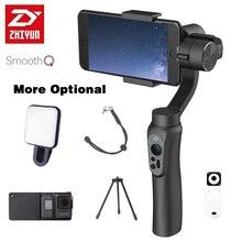 Zhiyun SMOOTH Q 3-Axis Handheld Gimbal Stabilizer for Smartphone action camera phone Portable sjcam cam PK feiyu dji osmo