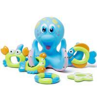 Детская Ванна набор игрушек Осьминог Развивающие детские воды для купания игрушки морской жизни Starfish Осьминог Краб спасательный круг best по