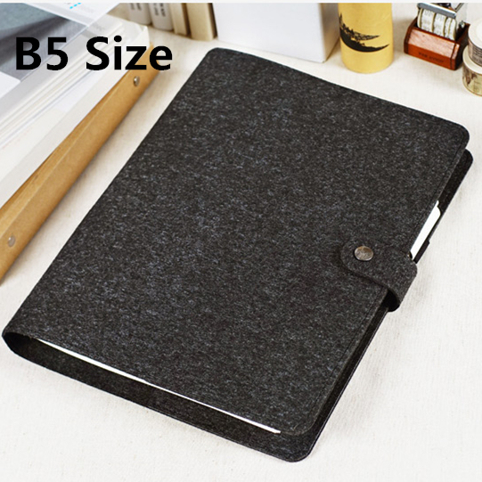2017 vintage personal organizer classic felt cover business office