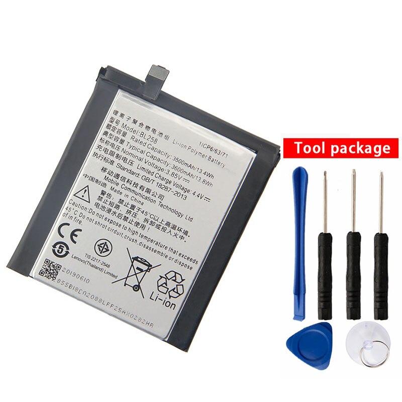 Original High Quality BL258 Battery For Lenovo Vibe X3 Lemeng X3 X3C50 X3C70 X3a40 3600mAh Mobile Phone Batteries     - title=