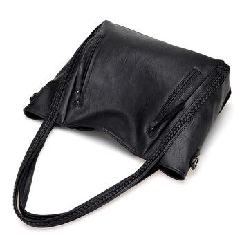 Soft Leather Large Shoulder Bag 5