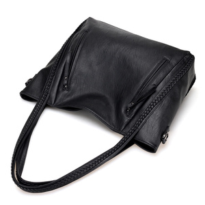 Image 5 - 2020 brand high quality soft leather large pocket casual handbag womens handbag shoulder bag large capacity handbag