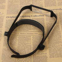 Replaceable Lens Loupe Magnifier 1.6x 2.0x 2.5x 3.5x Head Headband Magnify Glass Lens loupe made of optical glass