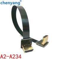 FPV 5 см 10 см 20 см 30 см 50 см 80 см 100 см гибкие печатные платы ленты плоский кабель HDMI шаг 20pin для HDMI HDTV мультикоптера и мини квадрокоптера FPV аэрофо...