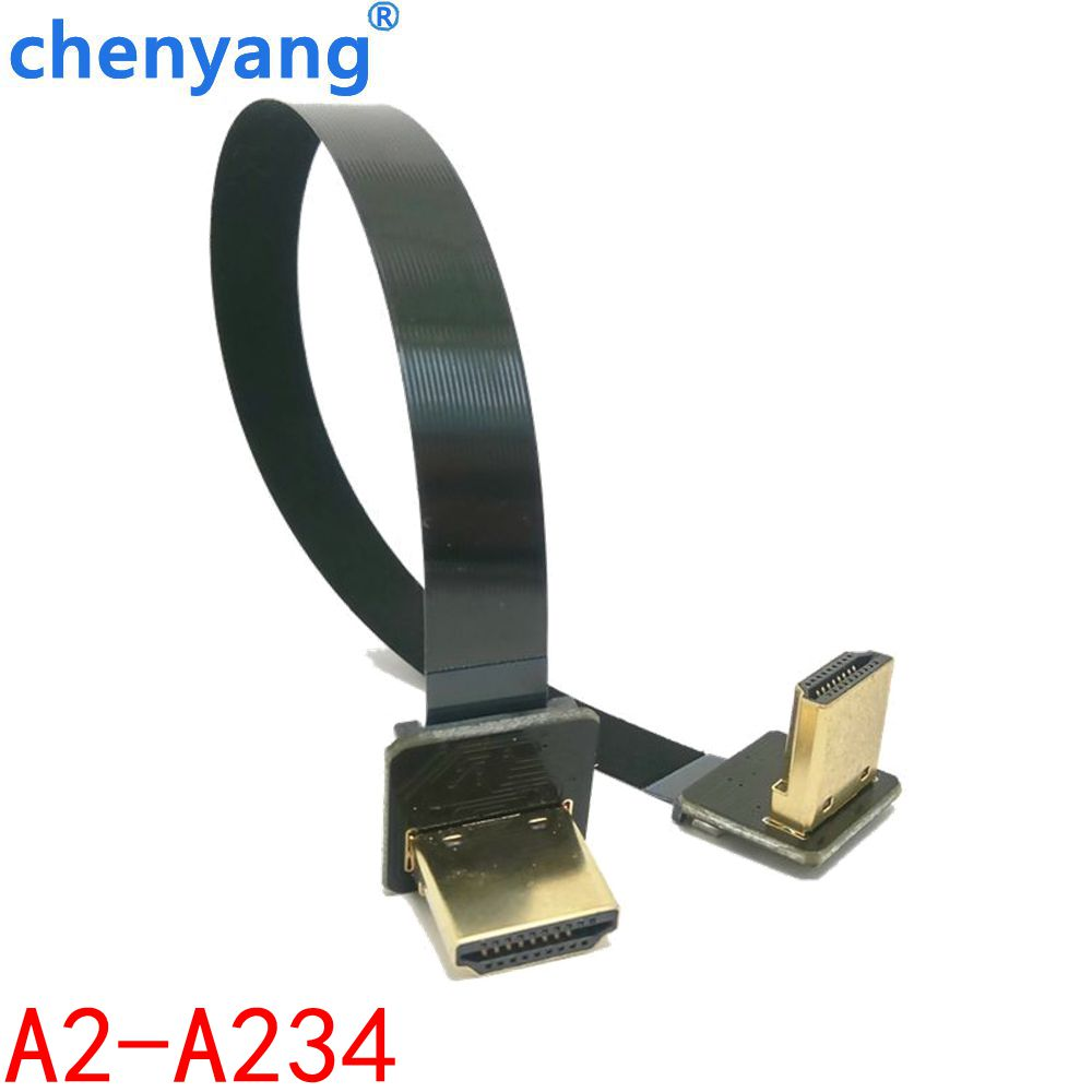 FPV 5cm 10cm 20cm 30cm 50cm 80cm 100cm FPC Ribbon Flat HDMI Cable Pitch 20pin for HDMI HDTV FPV Multicopter Aerial Photography