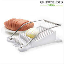 Egg slicer stainless wire slicer Luncheon meat foie gras fruit Cheese ham slicer Fancy cut Kitchen Cooking Tools