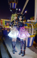 Love Live Minami Kotori Kousaka Honoka Umi Eli All Member Video Game Awaken Shine Cosplay Costume